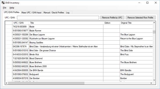 DVD Inventory