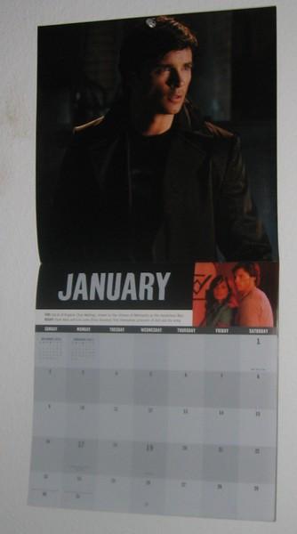 Smallville calendar