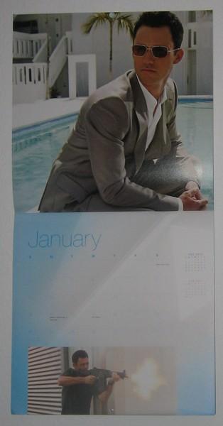 Burn Notice calendar