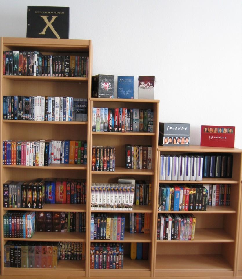Serien auf DVD