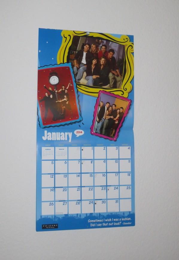 Friends calendar 2014