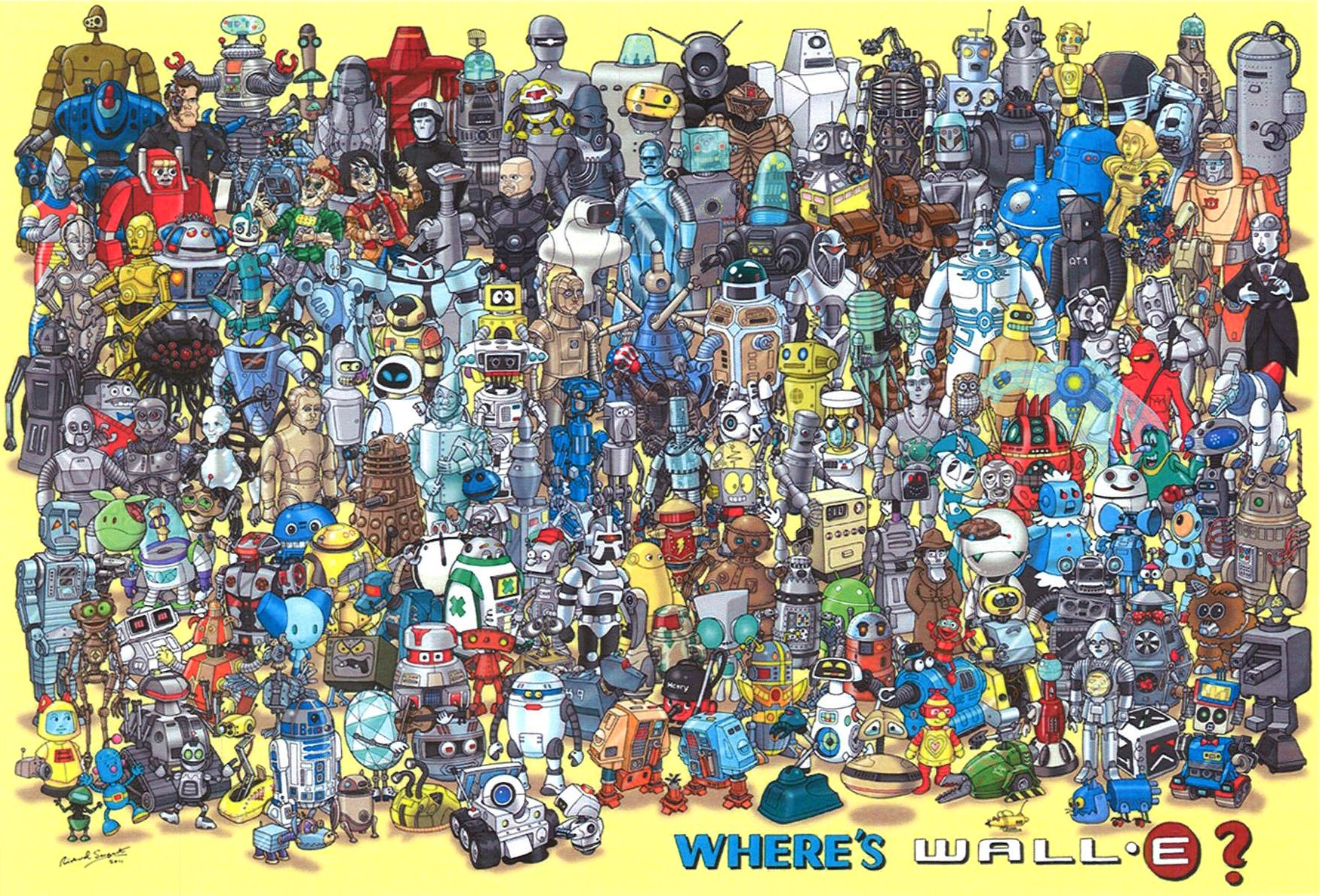 Where's Waldo, no, WALL·E