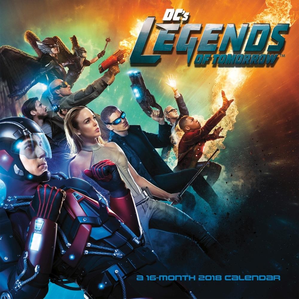 Legends of Tomorrow calendar 2018