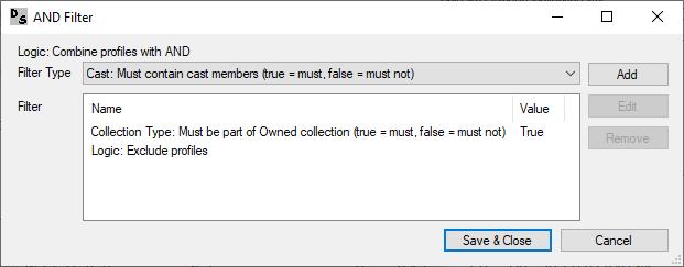 DVD Profiler Database Consistency Checker Rule Editor